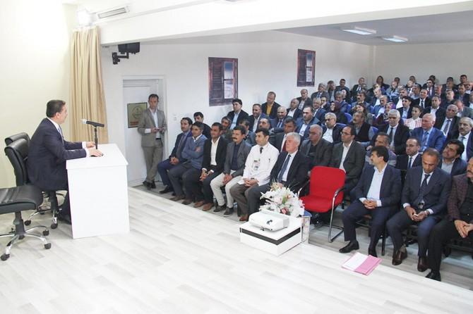 Lise Müdürleri ile Yıl Sonu Değerlendirme Toplantısı yapıldı