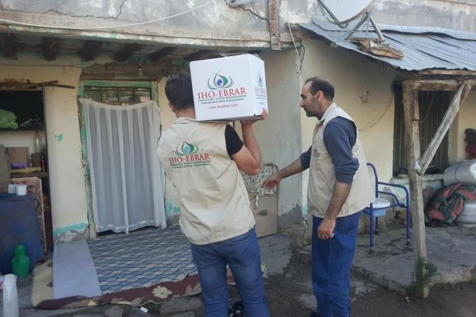 IHO-EBRAR'dan Ramazan yardımı