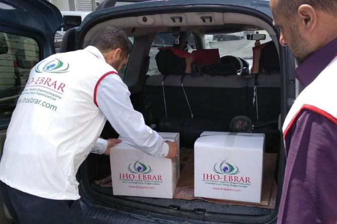 IHO EBRAR'dan Van'daki yetim ve muhtaçlara Ramazan paketi
