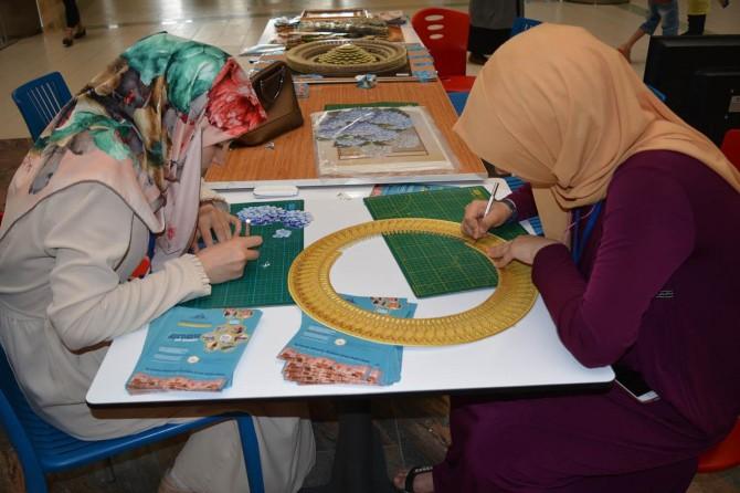 Katı' Sanatı sevenleriyle buluşturuldu