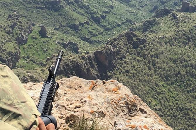 Ağrı'da 5 PKK'li öldürüldü