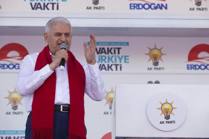 Başbakan: Bazı emperyalistler Kürdler için devlet kurmaya kalkıyorlar