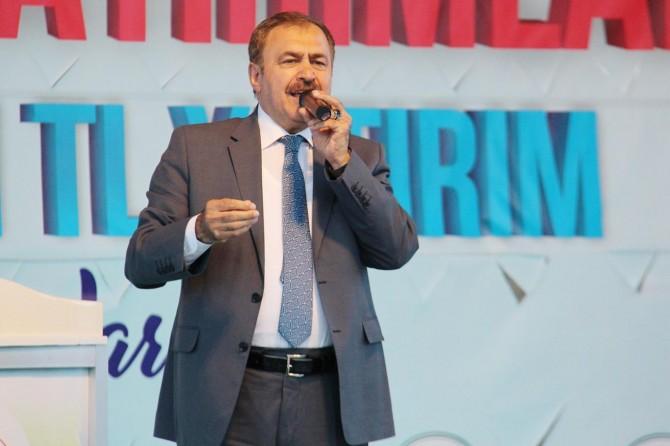 Bakan Eroğlu Diyarbakır'da 10 tesisin temelini attı