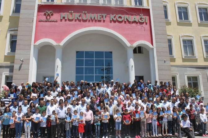 Diyarbakır Bismil'de 250 öğrenci bir kitap kaleme aldı