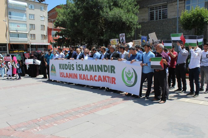 Elazığ'da Dünya Kudüs Günü açıklaması