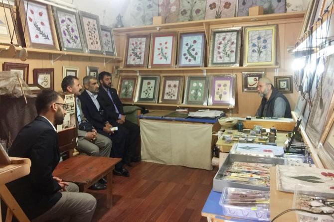 HÜDA PAR'dan Kastamonu'da esnafa ziyaret