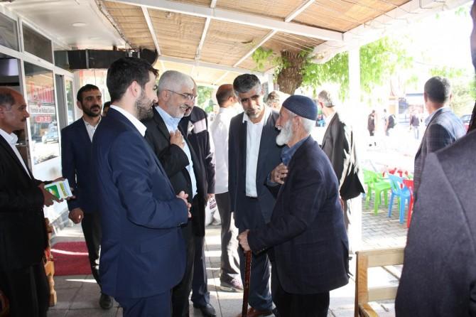 HÜDA PAR Bingöl milletvekili adaylarından ilçe ve beldelere ziyaret