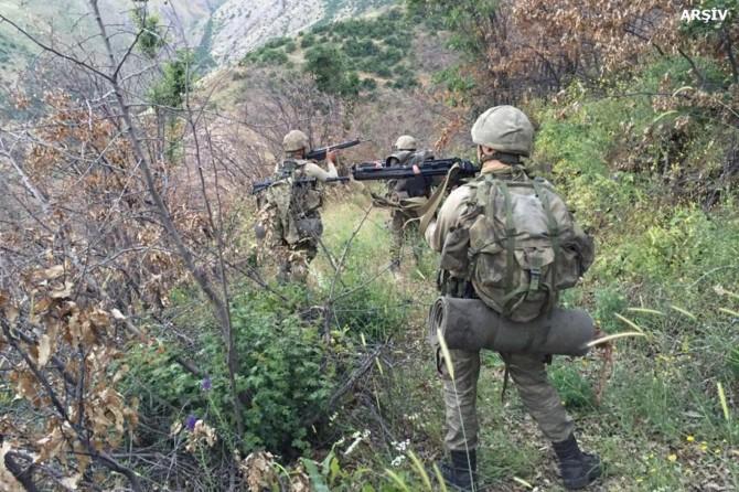 Şırnak'ta 5 PKK'li öldürüldü
