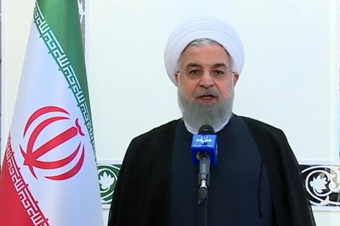 Iranian Rouhani issues a message on Al-Quds day