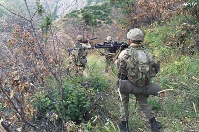 Li Şirnexê 5 PKKyî hatin kuştin