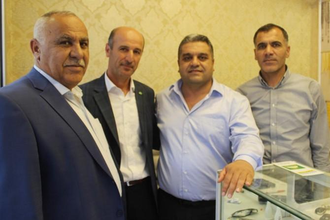 HÜDA PAR'dan Nusaybin esnafına ziyaret