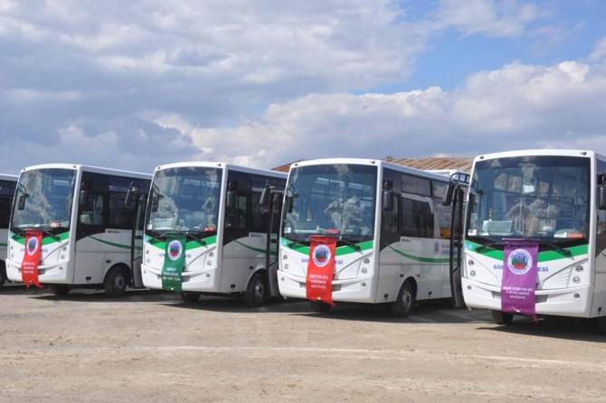 Siirt'te bayram boyunca toplu ulaşım ücretsiz