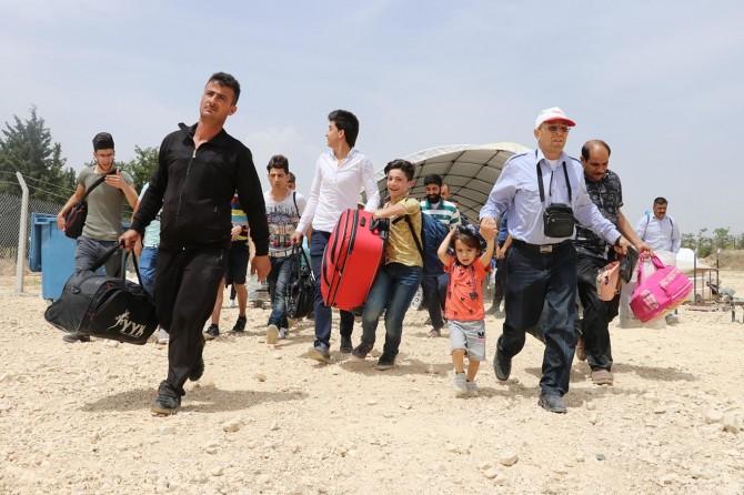 54 bin Suriyeli bayram için ülkesine geçti