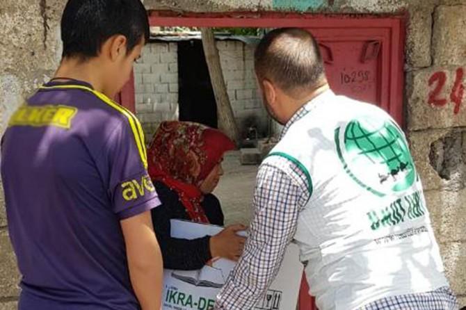Umut Kervanı Siverek'te yüzlerce ailenin yüzünü güldürdü