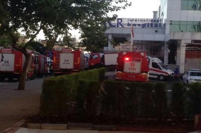 Özel hastanede yangın: 2 ölü
