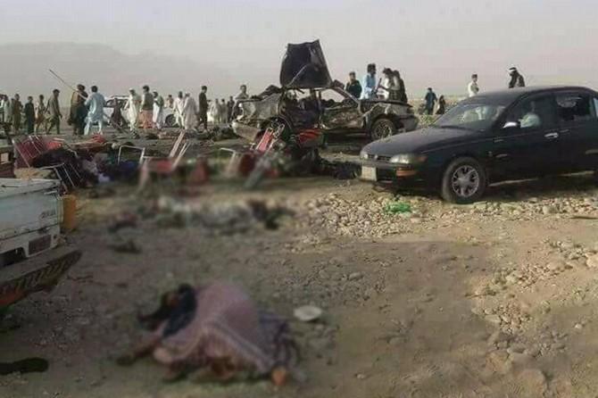 Êrîş li pîrozbahîya di navbera hêzên Efxan û Talîbanê de hat kirin: 20 mirî