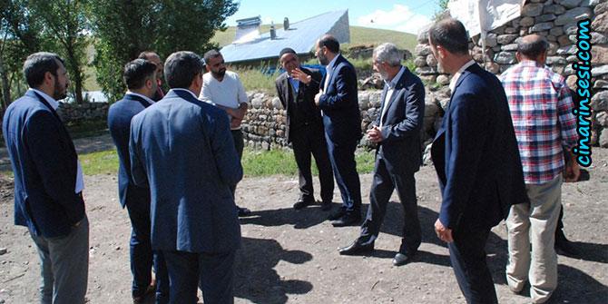 HÜDA PAR Ağrı milletvekili adaylarından köy ziyareti
