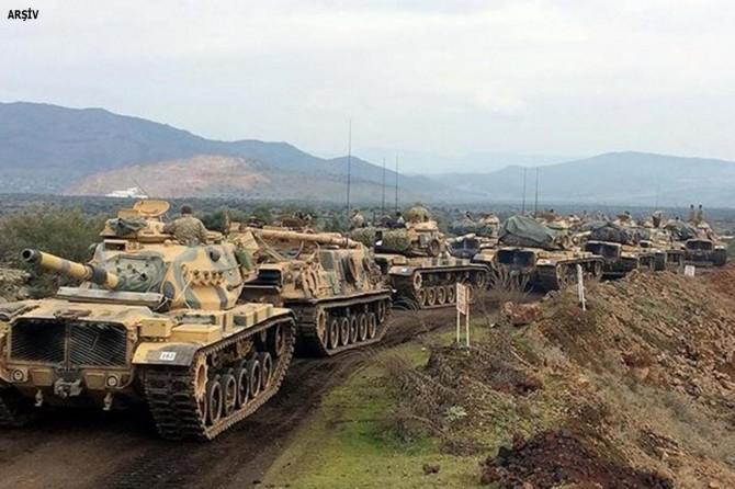 Türkiye askeri Menbic'e girdi