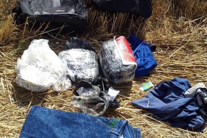 Kızıltepe'de tarlada bulunan çantadan patlayıcı çıktı
