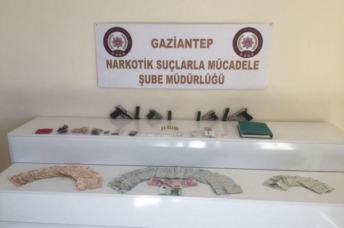 Gaziantep'te uyuşturucu operasyonu: 11 gözaltı