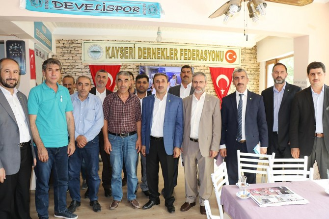 HÜDA PAR Ankara milletvekili adaylarından esnaf ziyareti