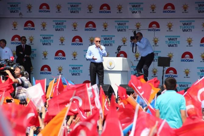 Cumhurbaşkanı Erdoğan: Ret ve inkâr politikalarından eser kalmadı