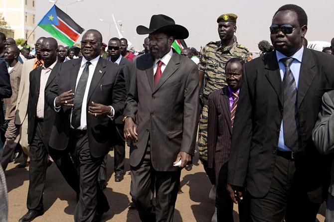 Güney Sudan'da barış umudu