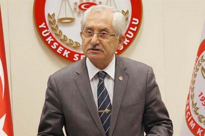 YSK Başkanı Güven'den mükerrer oy açıklaması