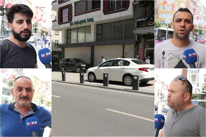 Sultangazi esnafı: Yapılan kaldırım bizleri mağdur ediyor
