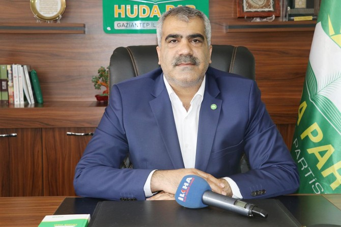 HÜDA PAR Genel Başkanı Yavuz Gaziantep'e geliyor
