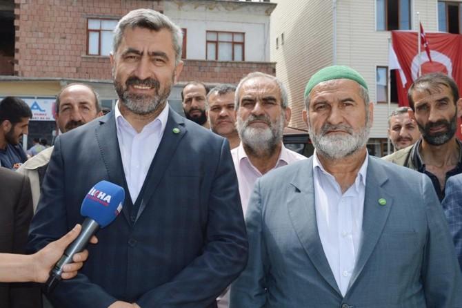 """""""Halkımız iktidar partisinden vaat değil icraat istiyor"""""""