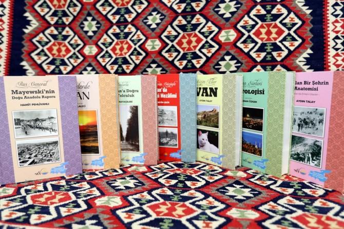 Van'ın tarihi ve kültürünü tanıtıcı kitaplar basıldı