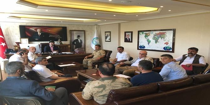 Çınar'da Seçim Güvenliği Toplantısı yapıldı