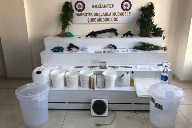 Gaziantep'te uyuşturucu operasyonu: 23 gözaltı