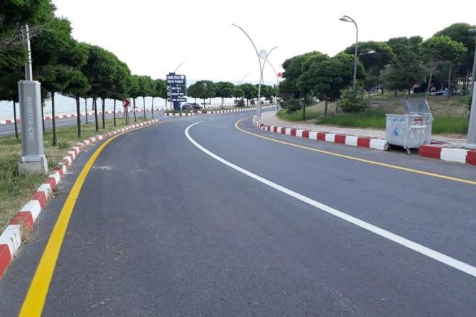 Büyükşehir belediyesinden Erciş'te yol çalışması