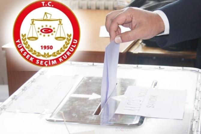 Siirt'te 179 bin 764 seçmen oy kullanacak