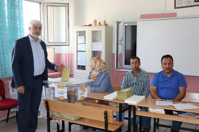 HÜDA PAR Bingöl milletvekili adayları oyunu kullandı