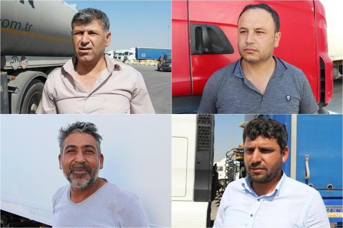 Şoförler oy kullandıktan sonra Irak'a geçti