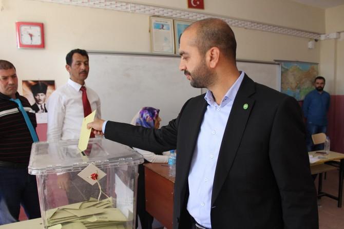 HÜDA PAR milletvekili adayları oylarını kullandılar