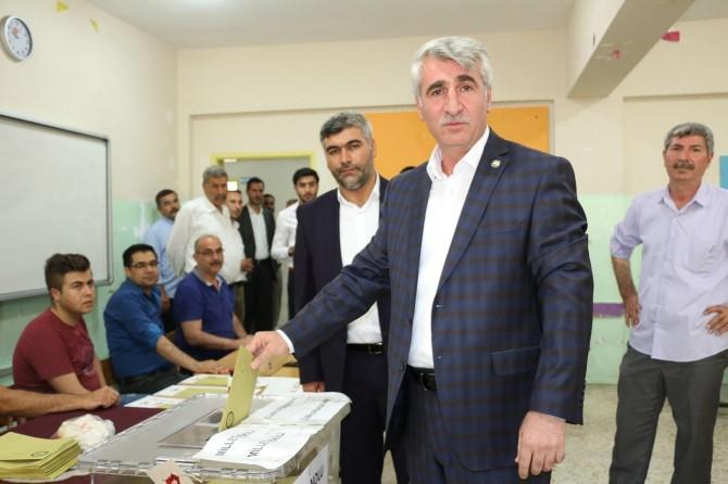 HÜDA PAR Şanlıurfa milletvekili adayları oylarını kullandı
