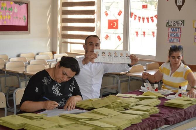 Siirt'te oy verme işlemi tamamlandı, sayım başladı