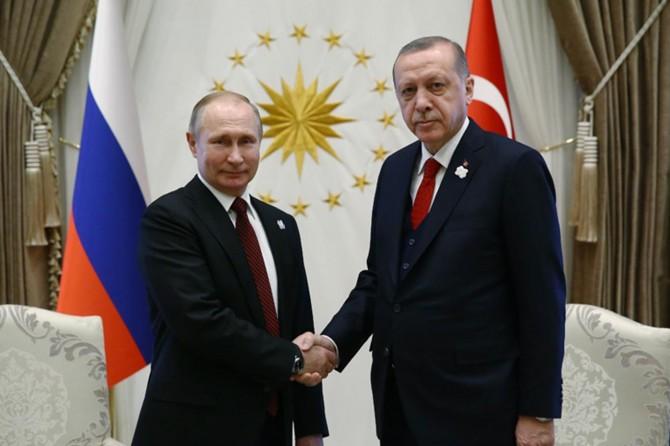 Putin Erdoğan'ı kutladı