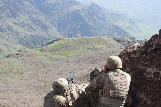 Mardin Kızıltepe'de 1 YPG'li teslim oldu