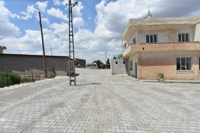 Mardin Artuklu'da yol yapım çalışmaları