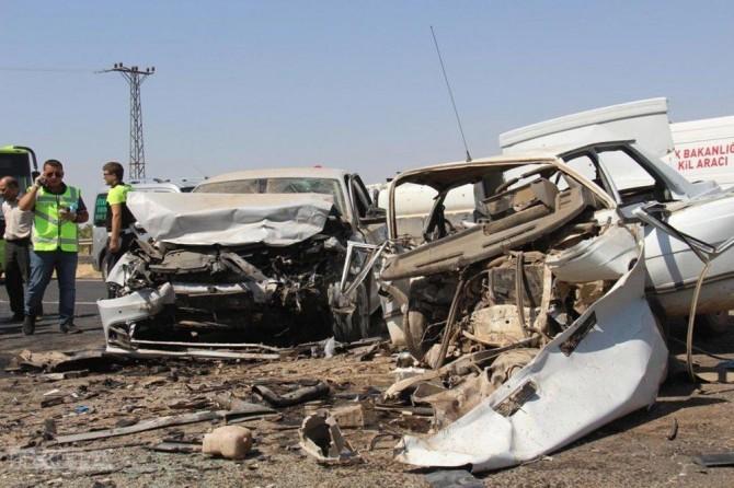 2017 yılında 1 milyondan fazla trafik kazası yaşandı