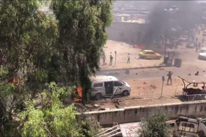 Afrin'de çifte saldırı: Ölü ve yaralılar var