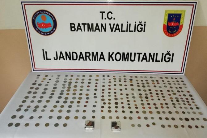 Batman'da tarihi sikke ele geçirildi