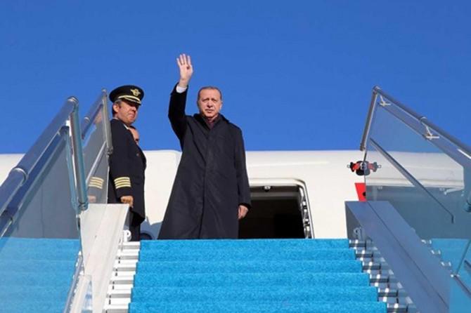 Cumhurbaşkanı Erdoğan'ın ilk yurtdışı ziyaret programı açıklandı