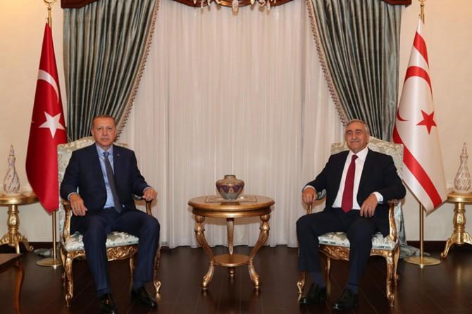 Cumhurbaşkanı Erdoğan, Kuzey Kıbrıs'ta