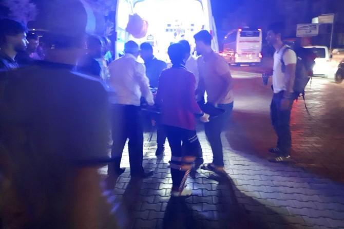 Elazığ Kovancılar'da otomobil yoldaki yayaya çarptı